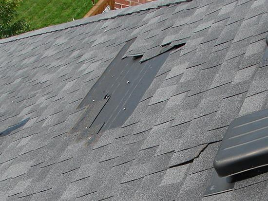 Roof Repair Missing Shingles